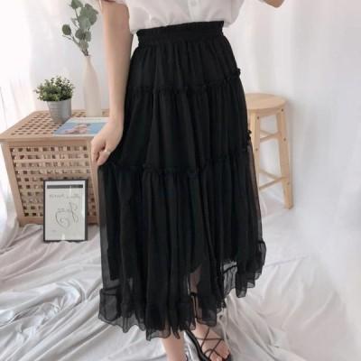 GIRLS RULE レディース スカート Posh Cancan Long Skirt