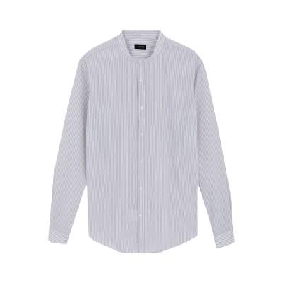 YOON シャツ ライトグレー 40 コットン 55% / ポリエステル 45% シャツ