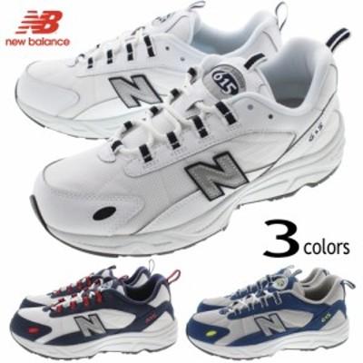 ニューバランス New balance スニーカー ML615 ホワイト/ネイビー(NRT) ネイビー/レッド(NNR) ネイビー/グレー(NBS)