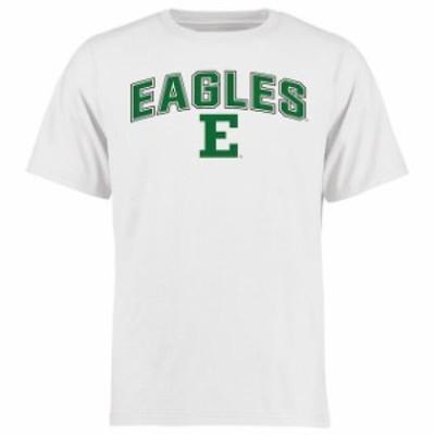 Fanatics Branded ファナティクス ブランド スポーツ用品  Eastern Michigan Eagles White Proud Mascot T-Shirt -