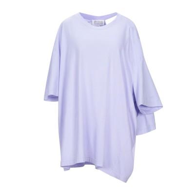 メゾン マルジェラ MAISON MARGIELA T シャツ ライラック XS コットン 100% T シャツ
