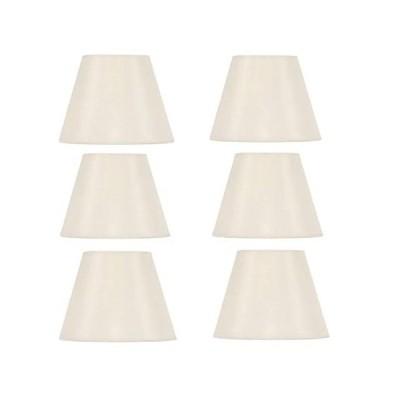 特別価格Upgradelights 5インチEmpireクリップonシャンデリアランプシェード交換用( Set of 6) 3x 5x 4.25 クリー好評販売中