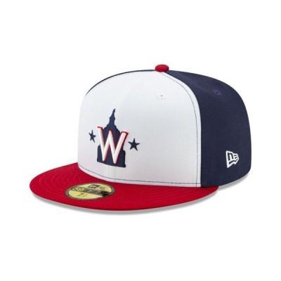 ニューエラ メンズ 帽子 アクセサリー Washington Nationals Authentic Collection 59FIFTY Cap