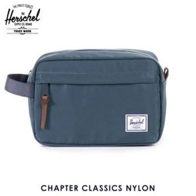 ハーシェル バッグ 正規販売店 Herschel Supply ハーシェルサプライ バッグ Chapter Classics Nylon 10039-00728-OS Navy D15S25