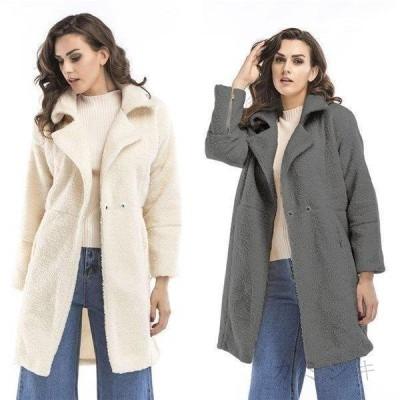 チェスターコート  ロング レディース 毛皮コート ラシャ混コート ロッグコート アウター 上着 暖かい 冬 防寒 オーバーコート 体型カバー 30代 40代 50代