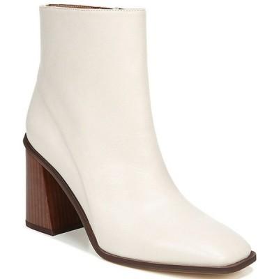 フランコサルト レディース ブーツ・レインブーツ シューズ Sarto by Franco Sarto Vallah Leather Block Heel Booties