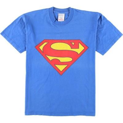 SUPERMAN スーパーマン ムービーTシャツ メンズM /eaa051904
