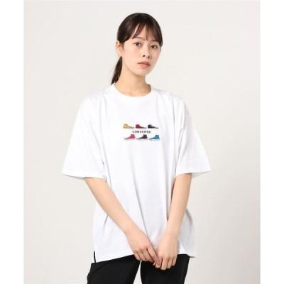 tシャツ Tシャツ 【CONVERSE/コンバース】SIXシューズ刺繍 半袖Tシャツ