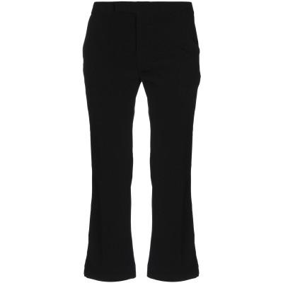 I AM ANN パンツ ブラック 42 ポリエステル 95% / ポリウレタン 5% パンツ
