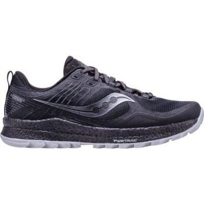 サッカニー Saucony メンズ ランニング・ウォーキング シューズ・靴 Xodus 10 Trail Running Shoe Black Trail Specific Mesh