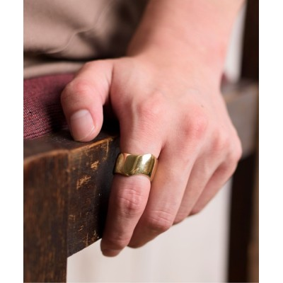 ability / ACE by morizane エース バイ モリザネ / vias ring K18 gold plated バイアス リング ゴールド プレート / AG922202GP WOMEN アクセサリー > リング