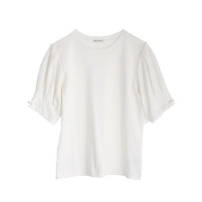 tシャツ Tシャツ タックスリーブTシャツ