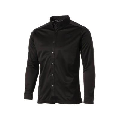 (PUMA/プーマ)ゴルフ EGW 24/7 長袖 ポロシャツ/メンズ PUMABLACK