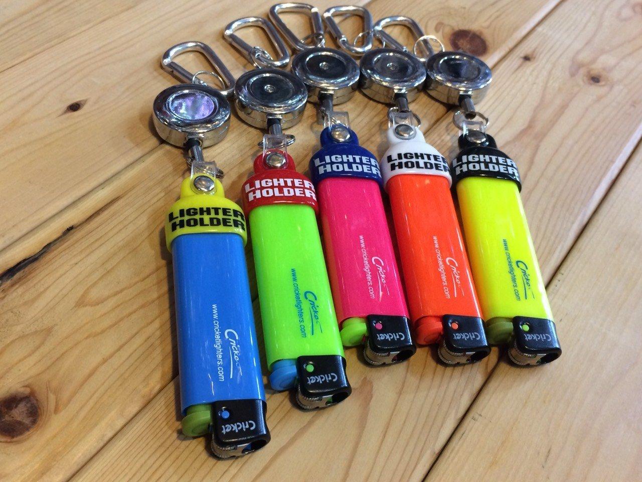 特價5折!! 瑞典Cricket & 法國Bic 打火機專用 快扣 伸縮 打火機套 / 鑰匙圈