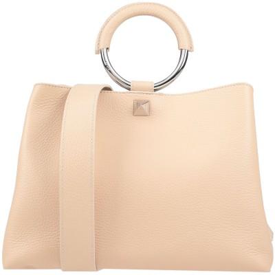SALAR ハンドバッグ ローズピンク 牛革(カーフ) 100% ハンドバッグ