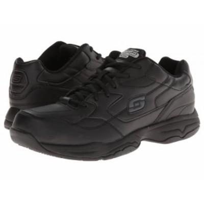 SKECHERS Work スケッチャーズ メンズ 男性用 シューズ 靴 スニーカー 運動靴 Felton Black【送料無料】