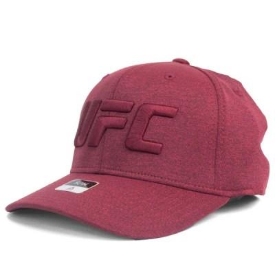 UFC キャップ/帽子 フレックス リーボック/Reebok バーガンディ
