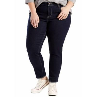 リーバイス レディース デニムパンツ ボトムス Plus Size 711 Skinny Ankle Jeans Scenic Drive