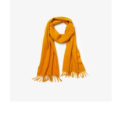 ウール×カシミヤブレンドスカーフ