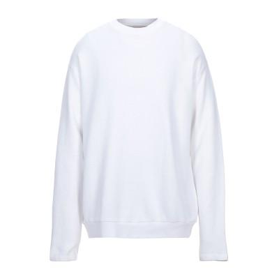 アメリカン ヴィンテージ AMERICAN VINTAGE スウェットシャツ ホワイト S コットン 100% スウェットシャツ