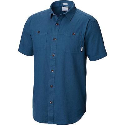 (取寄)コロンビア メンズ サウスリッジ ショートスリーブ シャツ Columbia Men's Southridge SS Shirt Impulse Blue 送料無料