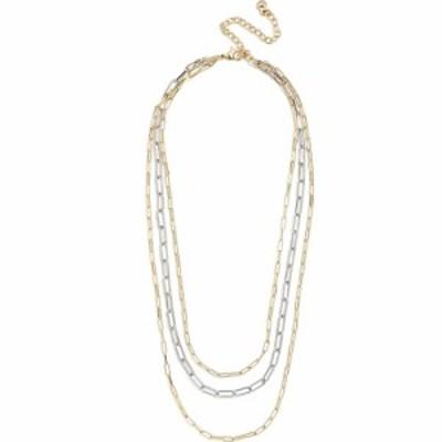 バウブルバー BAUBLEBAR レディース ネックレス ジュエリー・アクセサリー Hera Link Layered Necklace Gold/Silver