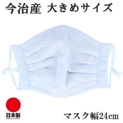 今治産タオル マスク ライトブルー 超敏感肌用 日本製 大きめサイズ 大きい マスク 大きめ 男性 L XL 洗える 抗菌 ゴム 通気性 吸水速乾 耳が痛くなりにくい