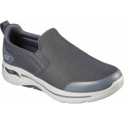 スケッチャーズ メンズ スニーカー シューズ Men's Skechers GOwalk Arch Fit Togpath Slip-On Charcoal