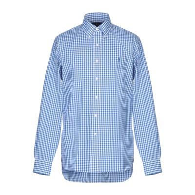 ラルフローレン RALPH LAUREN シャツ ブルー 42 コットン 100% シャツ