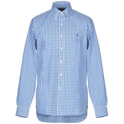 ラルフローレン RALPH LAUREN シャツ ブルー 39 コットン 100% シャツ