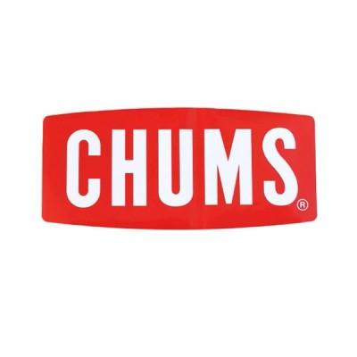 チャムス CHUMS ステッカー シール ステッカー ロゴ ボートロゴ ラージ 大きめ アウトドア キャンプ 屋外用 車用 おしゃれ かわいい ロゴ CH62-1058