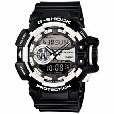 カシオ Gショック CASIO G-SHOCK ハイパーカラーズ 腕時計 メンズ ブラック アナデジ GA-400-1AJF