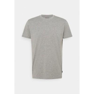 エスプリ Tシャツ メンズ トップス Basic T-shirt - grey