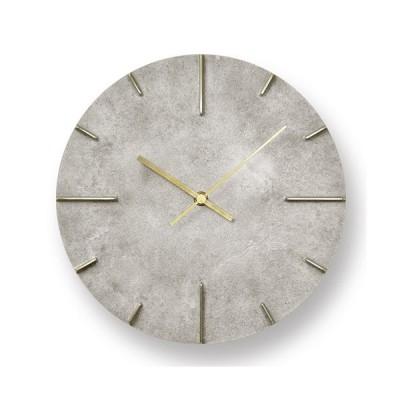 Lemnos(レムノス)掛時計 Quaint(クエィント) 斑紋純銀色(シルバー)