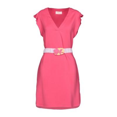 VDP COLLECTION ミニワンピース&ドレス フューシャ 42 96% レーヨン 4% ポリウレタン ミニワンピース&ドレス