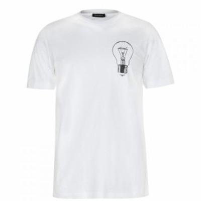 ディーゼル Diesel メンズ Tシャツ トップス Lightbulb T-Shirt White
