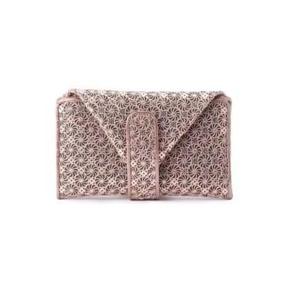 ヒロコ ハヤシ HIROKO HAYASHI GIRASOLE(ジラソーレ)マルチ財布 (ピンク)