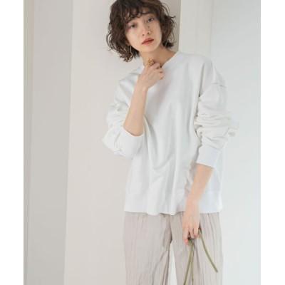 KBF/ケービーエフ ナイロンフィラメントスウェット WHITE one