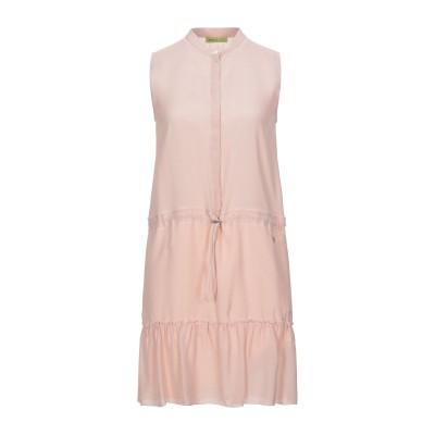 VERSACE ミニワンピース&ドレス ライトピンク 40 アセテート 56% / レーヨン 44% ミニワンピース&ドレス