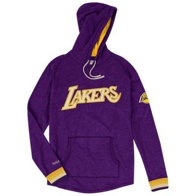 ミッチェル&ネス メンズ パーカー・スウェット アウター Men's Los Angeles Lakers Lightweight Hoodie