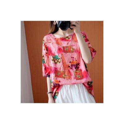 春夏新作 ファッション 人気Tシャツ ピンク ブルー2色展開