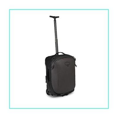 【新品】Osprey Packs Transporter Wheeled Global Carry On Luggage, Black(並行輸入品)