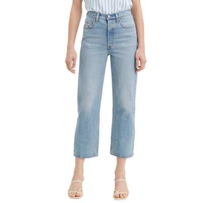 リーバイス レディース デニムパンツ ボトムス Ribcage Straight Ankle Tango Love Jeans