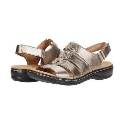 Clarks クラークス レディース 女性用 シューズ 靴 サンダル Leisa Ruby - Metallic Synthetic