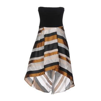 リュー ジョー LIU •JO ミニワンピース&ドレス オークル 42 ポリエステル 47% / シルク 43% / コットン 10% ミニワンピー