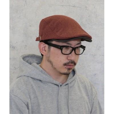 kana / ハンチング ジャガード 無地 ヘリンボーン メンズ ユニセックス MEN 帽子 > ハンチング/ベレー帽