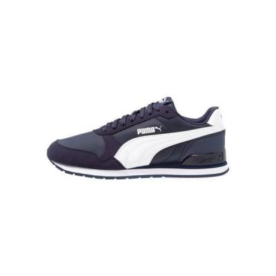 プーマ メンズ 靴 シューズ RUNNER UNISEX - Trainers - peacoat/white