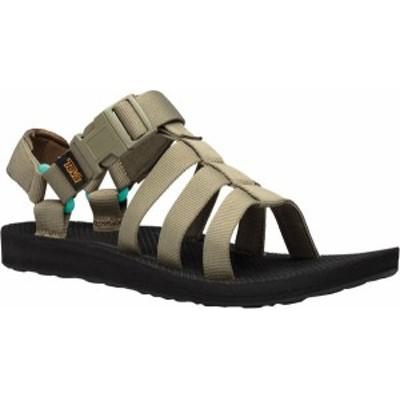テバ レディース サンダル シューズ Women's Teva Original Dorado Sport Sandal Burnt Olive/Waterfall Textile