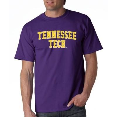 ユニセックス スポーツリーグ アメリカ大学スポーツ J2 Sport Tennessee Tech Golden Eagles NCAA Block Unisex T-shirt Tシャツ