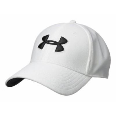アンダーアーマー メンズ 帽子 アクセサリー Blitzing 3.0 Cap White/Steel/Bla